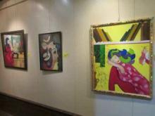 برپایی نمایشگاه طراحی و نقاشی در نهاوند