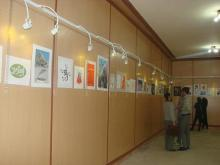 نمایشگاه تصویرسازی در نهاوند برپاست