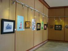 نمایشگاه هنرهای تجسمی در نهاوند برپاست