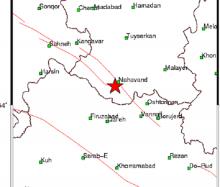 شهرستان نهاوند در 24 ساعت گذشته 4 بار لرزید/ بزرگترین زمین لرزه 3.3 ریشتر
